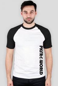 PKFR.WORLD Multicolor T-shirt (Black logo on 1 side)