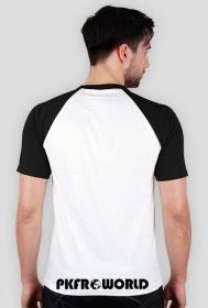PKFR.WORLD Multicolor T-shirt (Black logo on 2 sides)