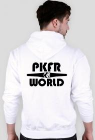 PKFR.WORLD Hoodie (Black logo on 2 sides)