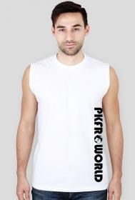 PKFR.WORLD Sleeveless Shirt (Black logo on 2 sides)