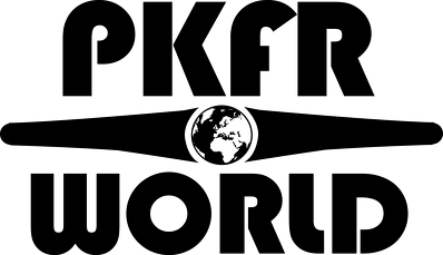PKFR.WORLD Multicolor Hoodie (Black logo on 2 sides)