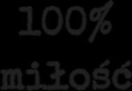 Kubek Walentynki 100% miłość