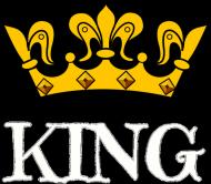 T-shirt King Męski Walentynki