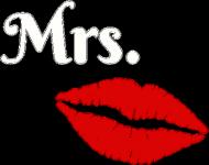 T-shirt Damski Walentynki Mrs 1