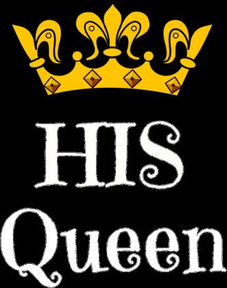 T-shirt His Queen Walentynki Damski