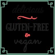 Poszewka Delicious gluten-free & vegan