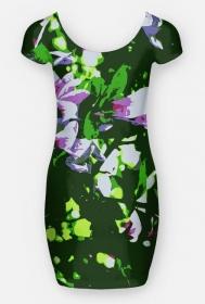 Sukienka Kwitnące drzewo
