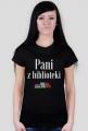 Koszulka Pani z biblioteki black
