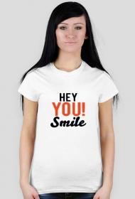Koszulka damska Hey You Smile