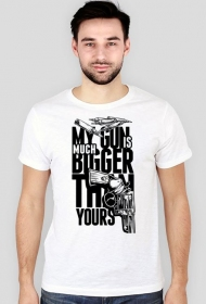Koszulka męska My Bigger Gun