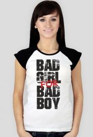 Koszulka damska Bad Girl For Bad Boy