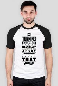 Koszulka męska Turning