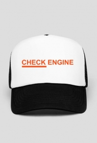 Czapka Check Engine