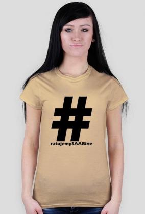 Ratujemy SAABine - duże logo czarne