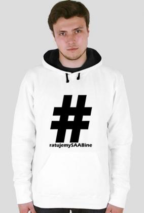 Ratujemy SAABine - bluza z dużym logo