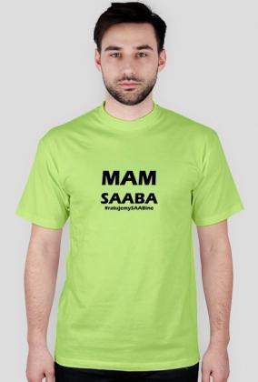 Mam SAABa - czarny napis