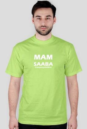 Mam SAABa - biały napis