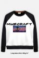 Longsleeve - Lekka bluza FullPrint męska 185 g/m2 ''Minecraft Skyvec ''