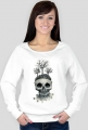 Skull Tree Woman White