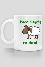 alergia na akryl