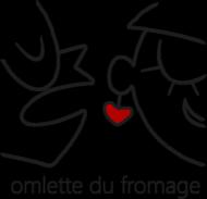 omlette du fromage - Koszulka Damska Czarne Logo
