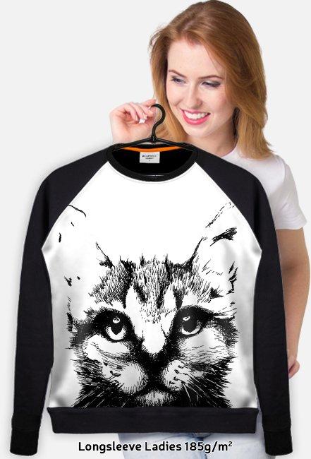 Czarny Kot bluza