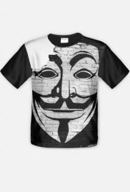 "T-Shirt ""Anonymous"" Fullprint"