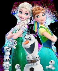 """T-shirt """"Kraina lodu"""" Elsa Anna"""