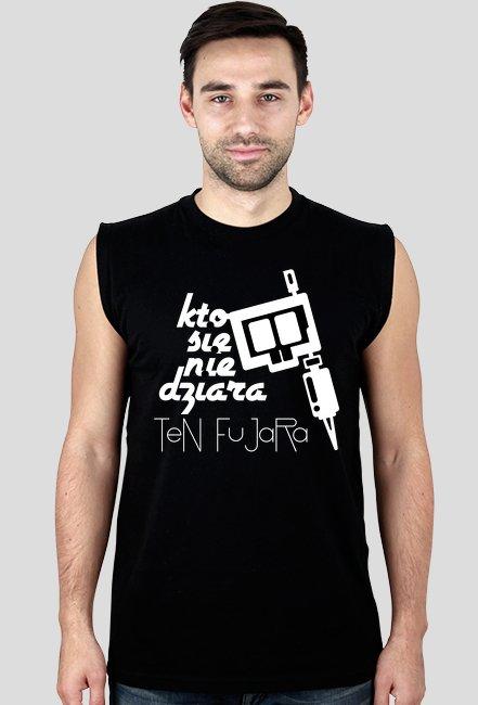 Koszulka bez rękawków KSNDTF Black