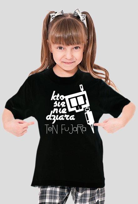 KSNDTF logo dla dziewczynek Black