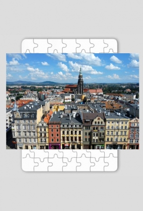 Puzzle - Panorama Świdnicy