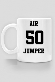 Air Jumper - kubek, 50 jumper