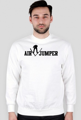 Air V Jumper - bluza, czarne nadruki