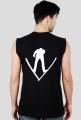 Air V Jumper - koszulka na ramiączkach, białe nadruki