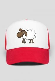 Czapka z daszkiem Owca