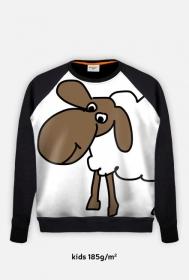 FullPrint Bluza Kids z długim rękawem Owca