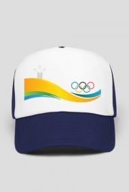 Czapka z daszkiem typu TRUCKER Igrzyska Olimpijskie Rio 2016
