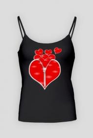 Koszulka na ramiączkach Ekspresowe serce