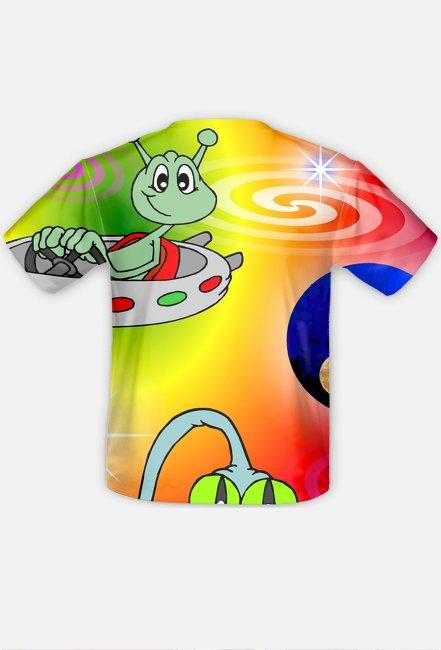 Koszulka FullPrint UFO