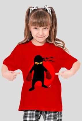 Koszulka dziecięca z krótkim rękawkiem Ninja 3