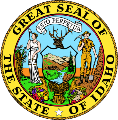 Misiek Great Seal Of The State Of Idaho