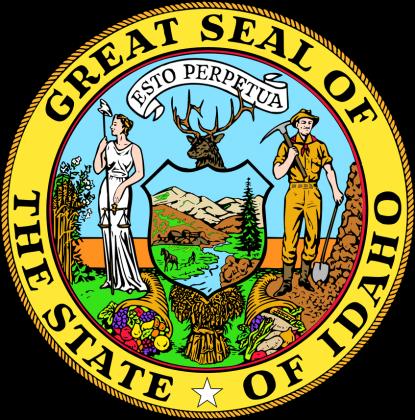 Torba ekologiczna na zakupy Great Seal Of The State Of Idaho