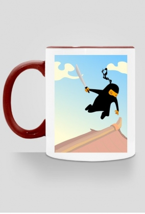 Kubek Latający Ninja 3