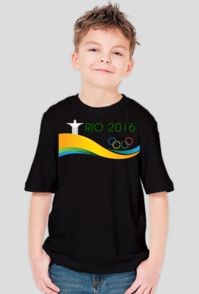 Koszulka dziecięca Igrzyska Olimpijskie Rio 2016