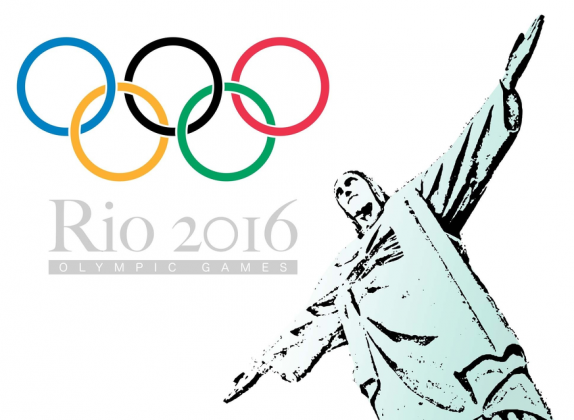 Torba ekologiczna na zakupy biala Olimpiada Rio 2016