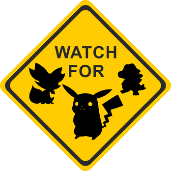 Plecak maly Watch For Poke Go