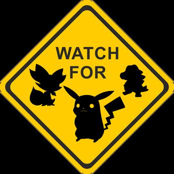 Plecak duży Watch For Poke Go