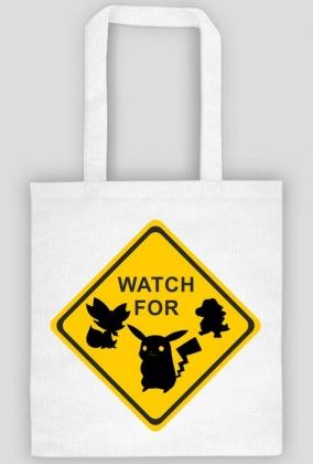 Torba na zakupy Watch For Poke Go