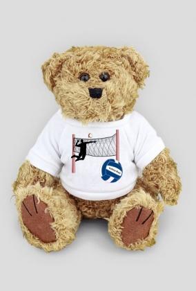 Misiek w koszulce Volley-Ball