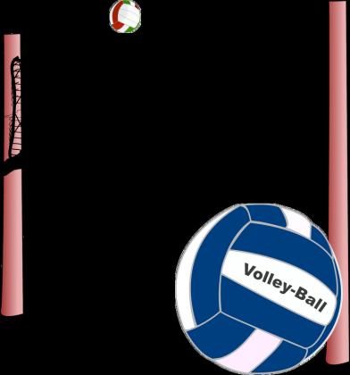 Koszulka Slim meska Volley-Ball